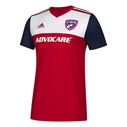 huge selection of 37528 6c11c adidas FC Dallas Jersey Replica Home Soccer Jersey