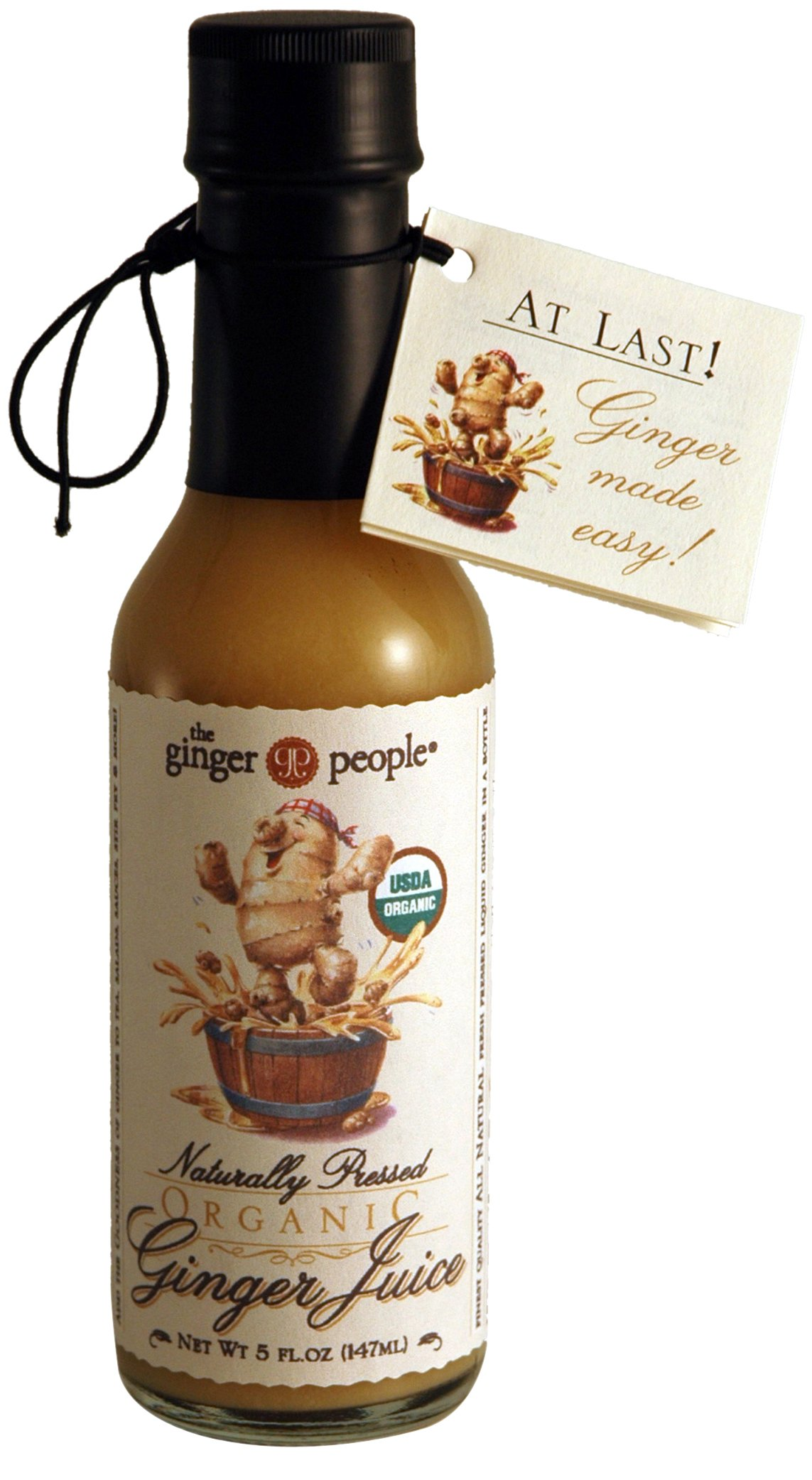 The Ginger People Organic Ginger Juice, 5-ounces (Pack of 6)