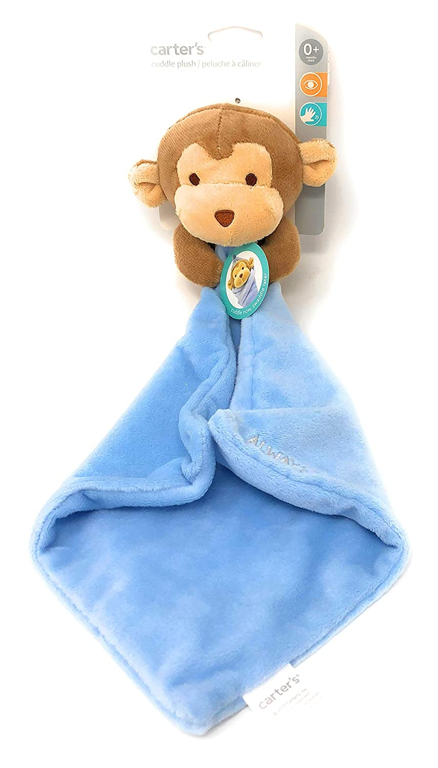 Kids Preferred Carter's Cuddle Plush Swaddle Monkey for Baby