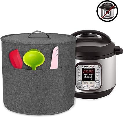 Luxja Cubierta a Prueba de Polvo para Instant Pot IP - DUO60, Gris: Amazon.es: Hogar