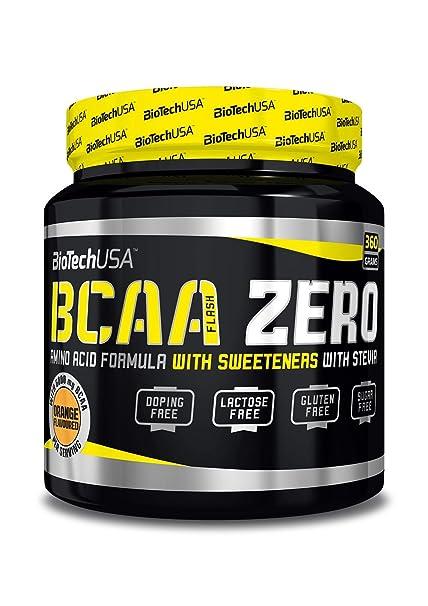 Biotech Bcaa Flash Zero Aminoácido Piña y Mango - 360 gr
