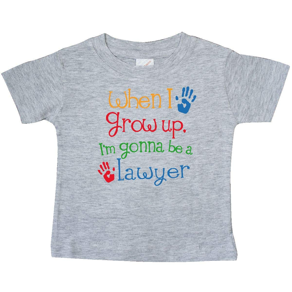 inktastic Future Lawyer Boys Girls Attorney Baby T-Shirt