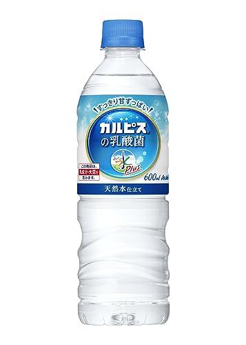 アサヒ飲料 おいしい水プラス「カルピス」の乳酸菌 600ml✕24本