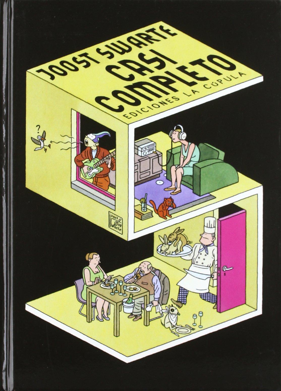 Casi completo (Novela gráfica) Tapa dura – 27 ene 2012 Joost Swarte Eva Snijders Ediciones La Cúpula S.L.