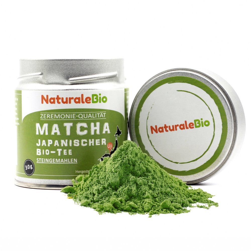 Matcha Tee Pulver Bio Ceremonial Grade Original Green Tea Aus