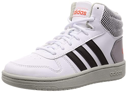 adidas Hoops Mid 2.0 K, Chaussures de Basketball Mixte