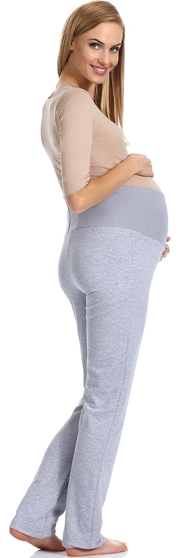 Azul, L Be Mammy Premam/á Pantalones Embarazada Verano Ropa de Maternidad Lactancia Mujer GX207