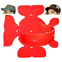 1Pk. Stylish Wrap-Around & Military Hat Shaper Combo| Hat Storage aide| Long Lasting Hat Liner