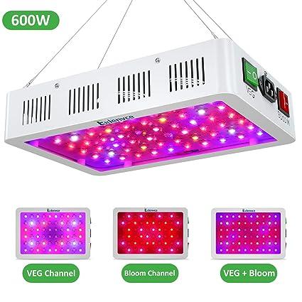 Amazon.com: Exlenvce - Lámpara LED de crecimiento con ...