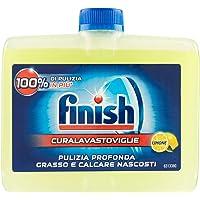Finish Curalavastoviglie Additivo Lavastoviglie, Limone, 3 x 250 ml