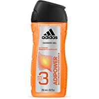 Adidas Adipower 3In1 Body, Hair And Face Shower Gel For Him, 250 ml