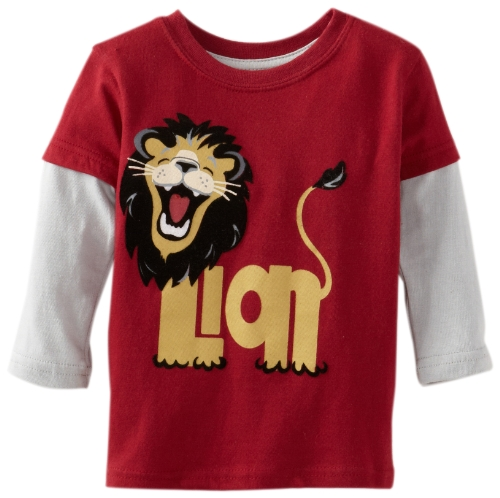 Watch Me Grow! by Sesame Street Baby-Boys Infant Lion Top