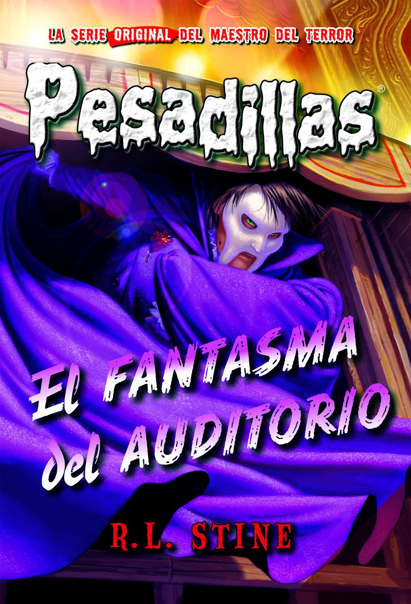 El fantasma del auditorio: Pesadillas, 27: Amazon.es: Stine, R. L.: Libros