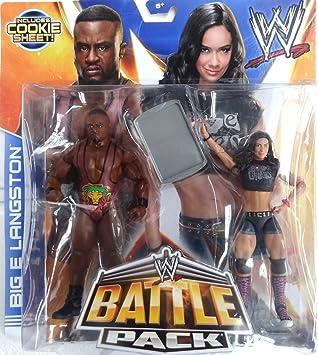 Mattel WWE Batalla Packs 28 Big E Langston & AJ Lee Lucha Libre Figuras: Amazon.es: Juguetes y juegos