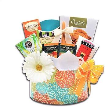 Alder Creek Gifts Tea Essentials Spring Gift Basket