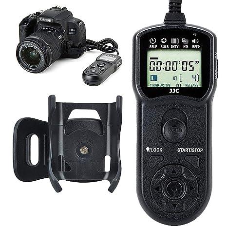 Amazon com : JJC Timer Remote Control Shutter Release for Canon EOS