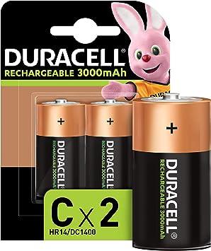 Duracell Rechargeable C 3000 Mah Baby Akku Batterien Elektronik