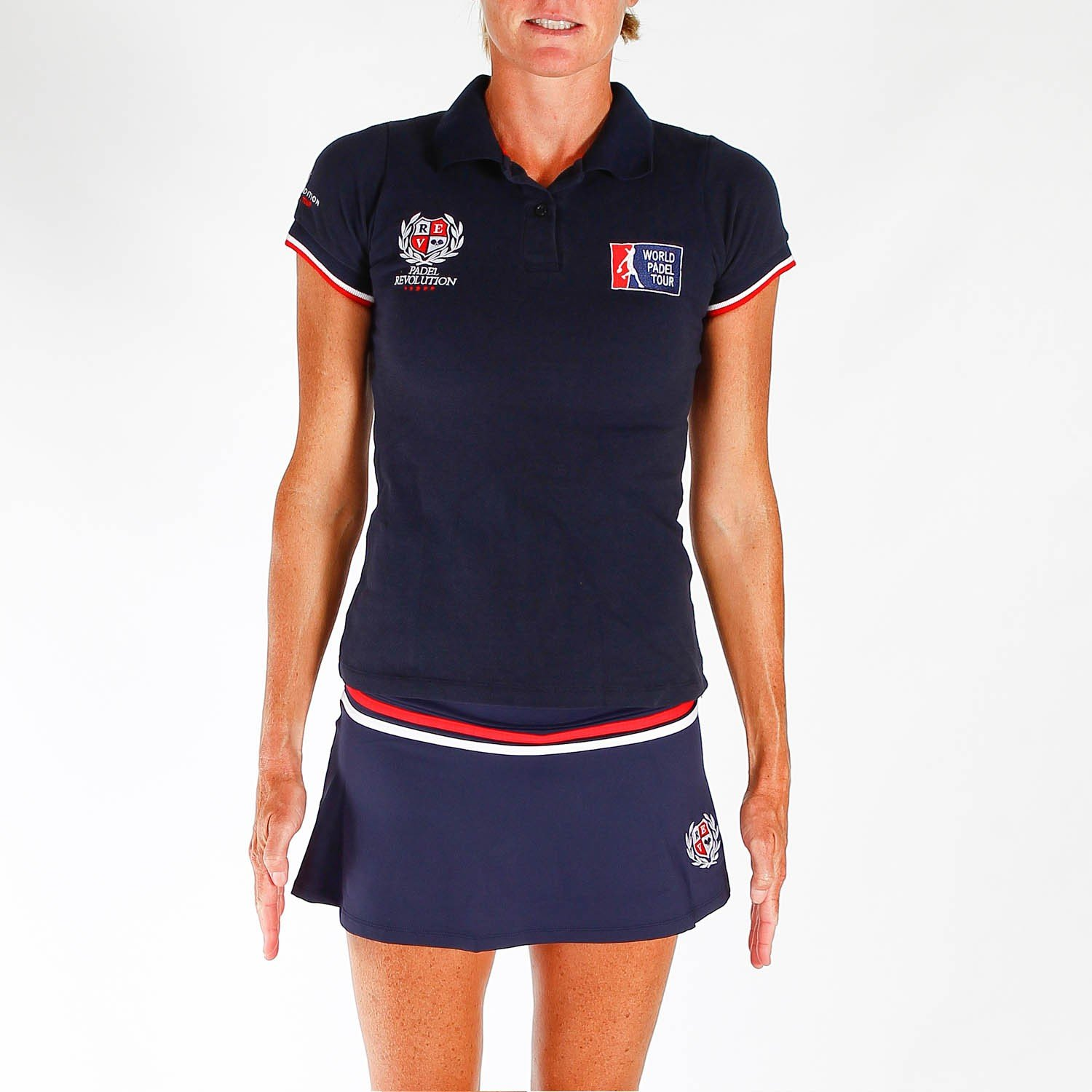 PADEL REVOLUTION - Polo Oficial World Padel Tour Woman M, Color ...