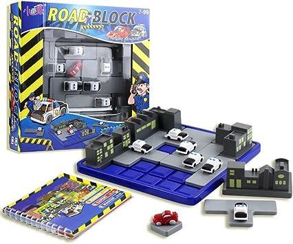 Georgie Porgy Juegos de Mesa Puzzler Juegos Ingenio Juegos de Logica para Niños Adultos (Road Block) Niños: Amazon.es: Juguetes y juegos