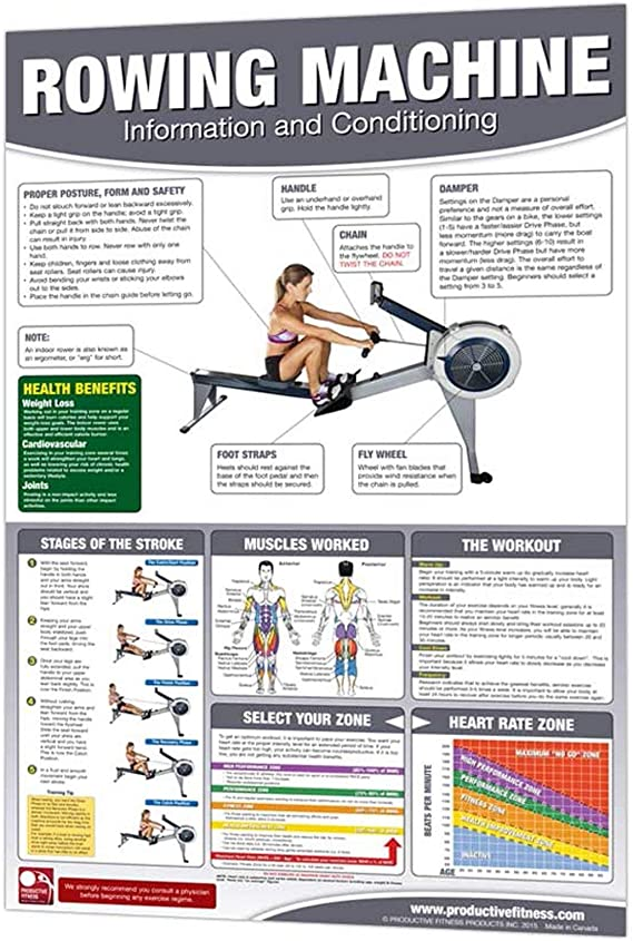 Productive Fitness Poster Series - Functional Trainer Basics & Advanced for at Home Use
