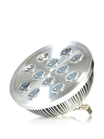 Hispania AR111 / QR111 LED 12W de consumo | 950 lumens, luz cálida 3000K