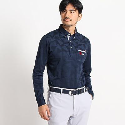 (アダバット) adabat サーフボードモチーフ長袖ポロシャツ 08214224