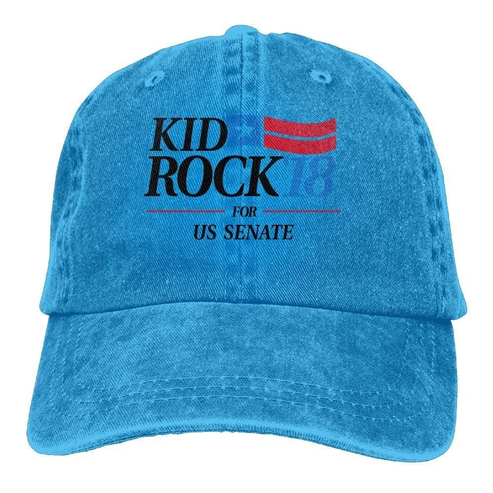 ec4d7032a New Baseball Cap Kid Rock'18 for US Senate Individuality Cowboy ...