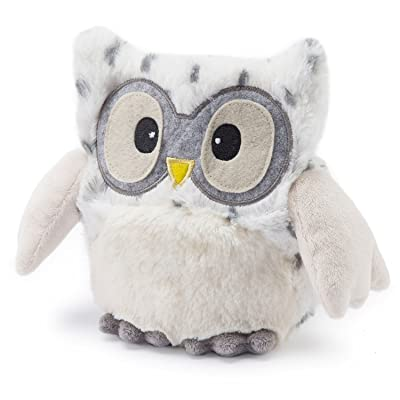 "Intelex Warmies Microwavable French Lavender Scented Plush Hooty Snowy Owl, 10"", Snow White: Health & Personal Care"