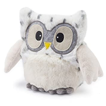 Intelex Warmies Hooty Fully Microwavable Cozy Plush - Snowy