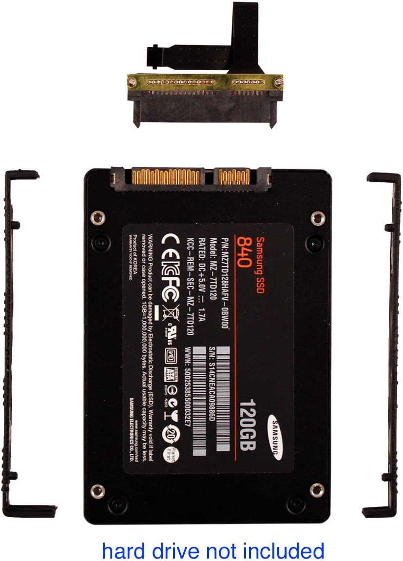 2nd SSD/HDD Caddy for HP-Omen-17-w000 to 17-w250TX Compare 862964-001