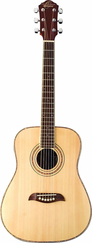 Pink Oscar Schmidt OG1P-A-U 3//4 Size Acoustic Guitar