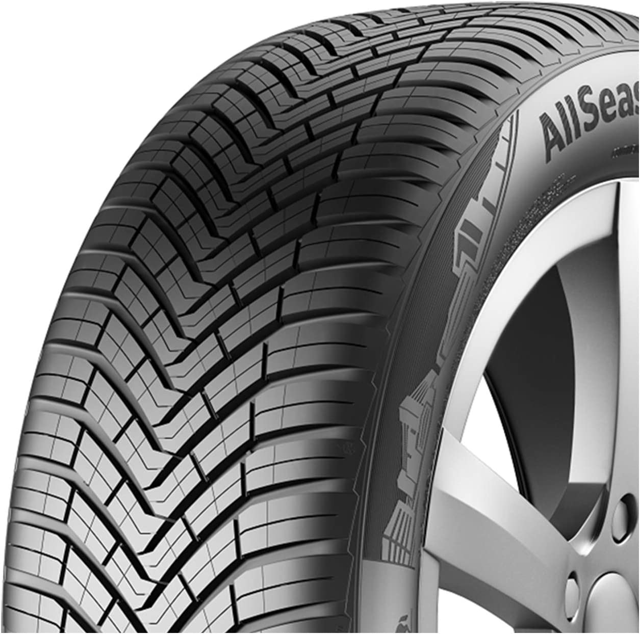 Pneumatici 4 Stagioni 195//50R15 86H CONTINENTAL XL AllSeasonContact Gomme 4 Stag