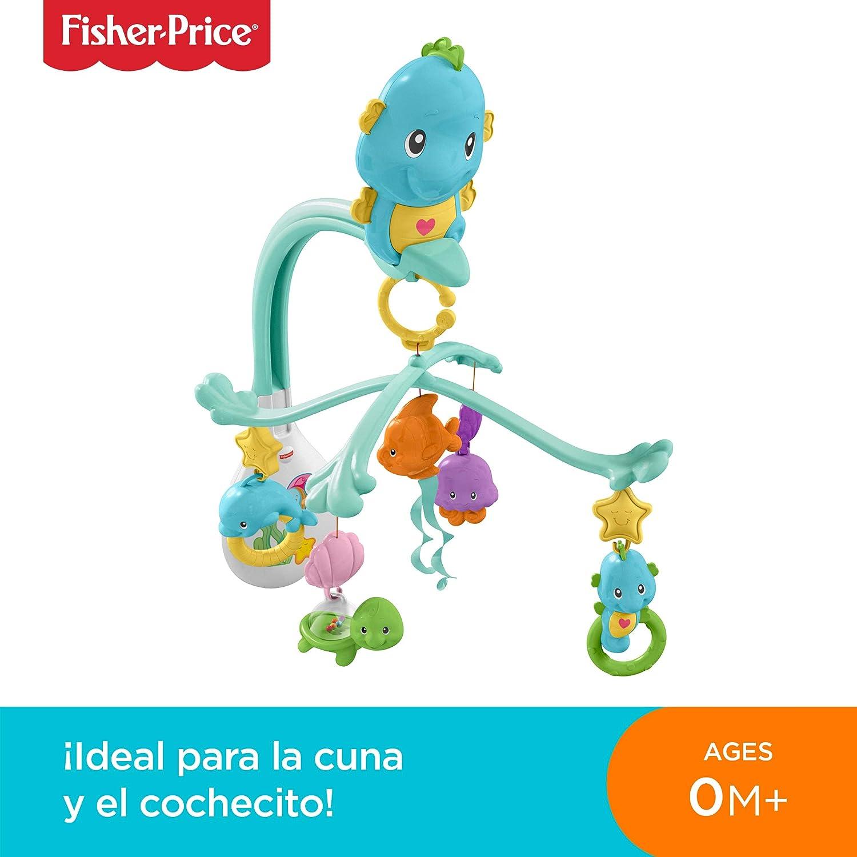 Fisher-Price Móvil musical caballito de mar, para bebé +0 meses ...