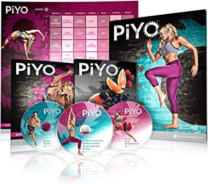 Amazon.com: Chalene Johnsons PiYo Kit base, DVD de ...