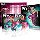 Chalene Johnson's PiYo Base Kit - DVD Workout with Exercise Videos + Fitness Tools and Nutrition Guide