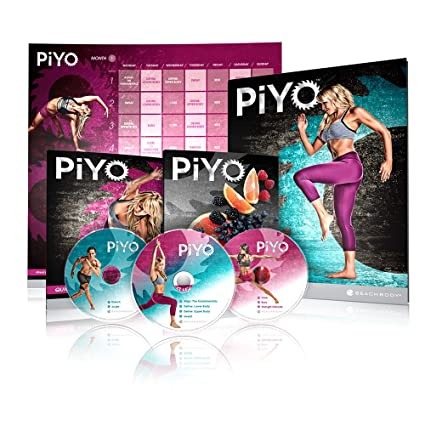 3ad9971510 Amazon.com : Chalene Johnson's PiYo Base Kit - DVD Workout with Exercise  Videos + Fitness Tools and Nutrition Guide : Sports & Outdoors