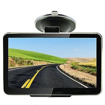 Navegador por satélite GPS para coche de 5 pulgadas, incluye actualización de mapas del Reino Unido, UE, 8 GB: Amazon.es: Electrónica