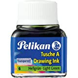 Pelikan flacon 10 ml encre de chine a vert clair n° 6