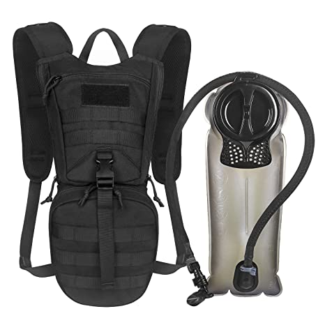 2e94303a5109 Unigear Tactical Hydration Packs Backpack 1050D with 2.5L Water Bladder