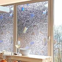 Bruselas08 - Adhesivo 3D para ventana, antiUV, cristal