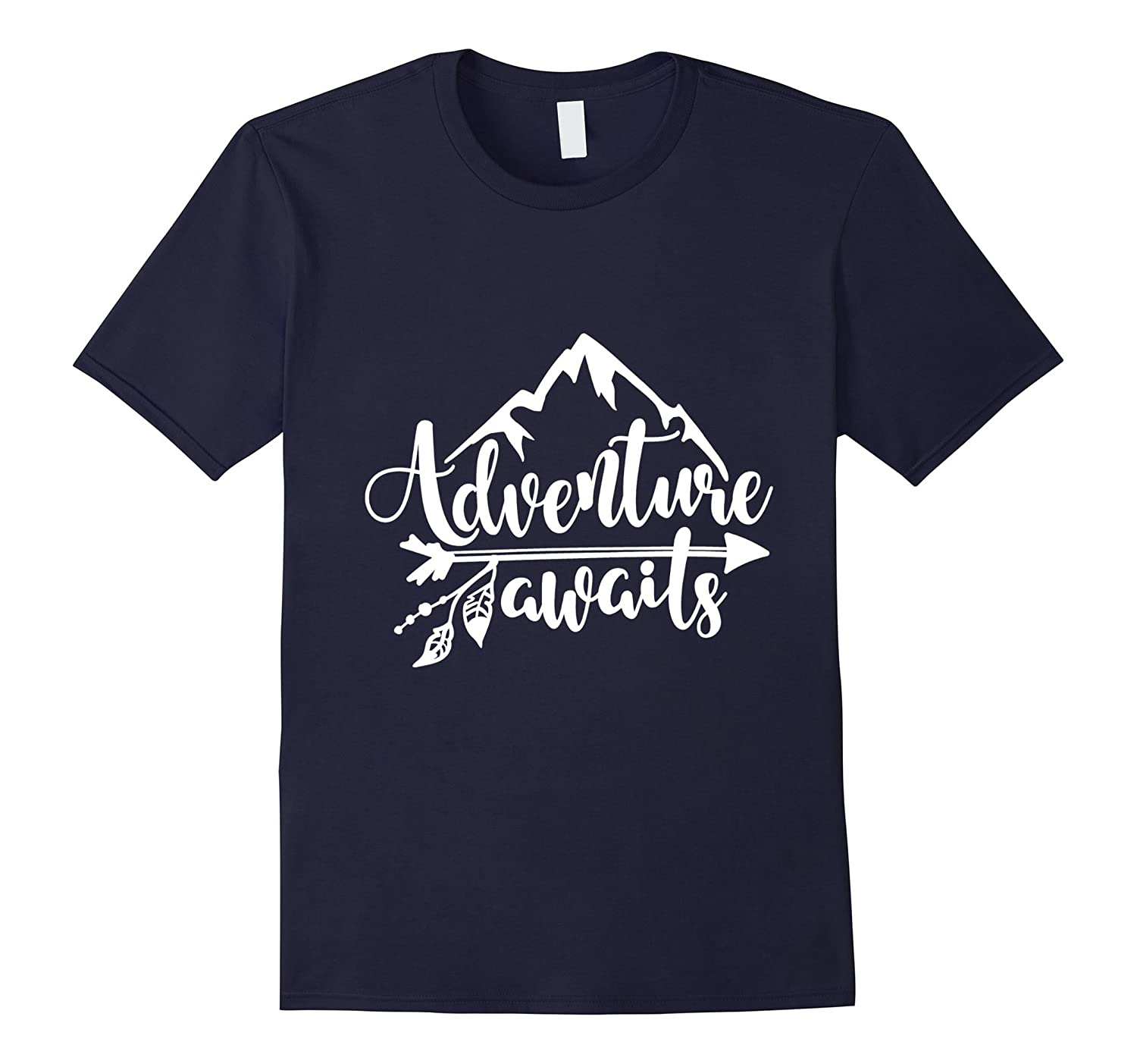 Adventure Awaits - Camping, RV, and Outdoor Travel T-shirt-Art