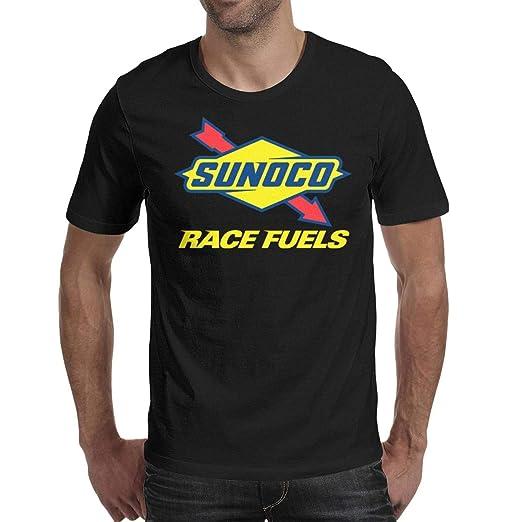 YUIOA Men's T-Shirts Tee Cotton Jersey Sunoco-Race-Fuels- Short Sleeve  Tshirts
