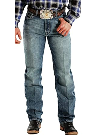 6f7c5562024b Amazon.com  Cinch Men s Label 2.0 Medium Wash Jeans - Mb90633006 Ind ...