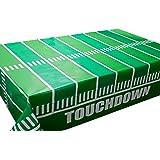Juego de 3 manteles de fútbol para decoración de partidos de fútbol, 137 x 274 cm