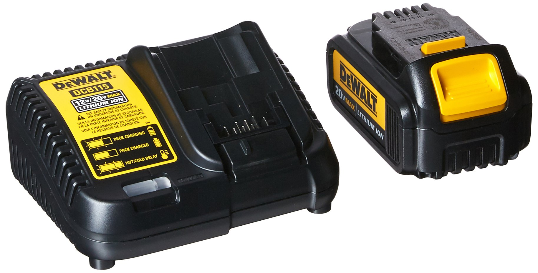 DEWALT DCB200C Battery Pack & Charger