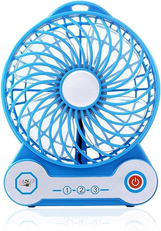 Aires acondicionados móviles Mini Fan USB Ventilador de Carga ...