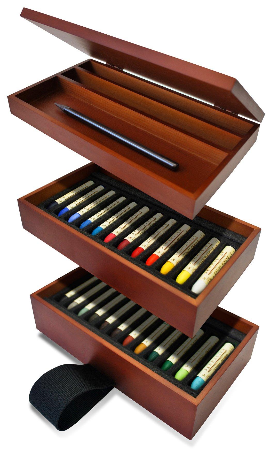 Sennelier Oil Pastel Nesting Set Of 24 by SAVOIR-FAIRE