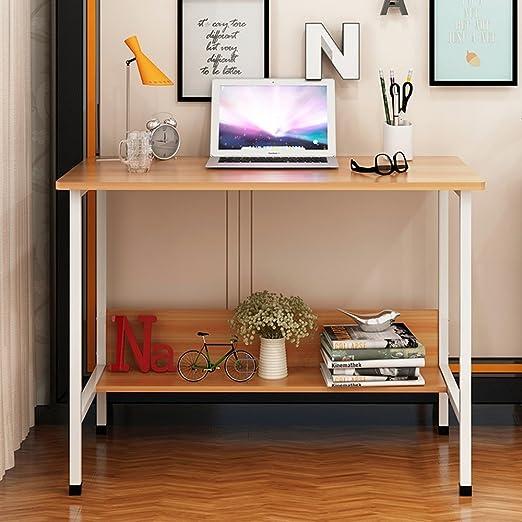 mesa plegable YNN Mesa de Escritorio de Oficina Mesa de ...
