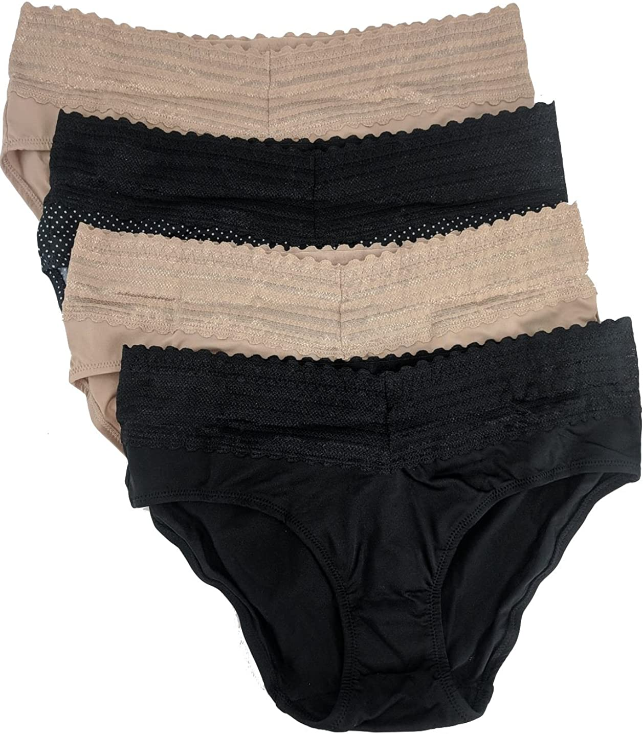 Warner's Women's No Pinches No Problems Hipster Panty 4-Pack at  Women's Clothing store