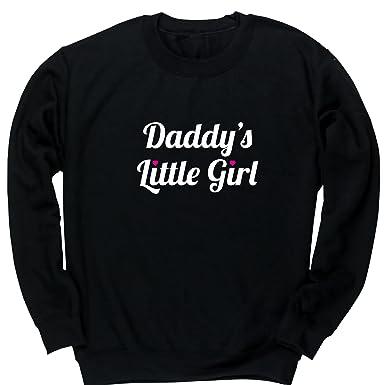 83207978 Hippowarehouse Daddy's Little Girl Kids Children's Unisex Jumper Sweatshirt  Pullover